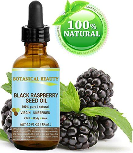 Best Seller 250 Ml Raspberry Essential black raspberry seed 100 undiluted unrefined cold pressed