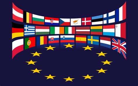 flags of the world european union free vector graphic european union flags stars eu