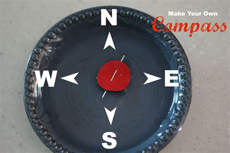 How To Make A Paper Compass - make your own compass i can teach my child