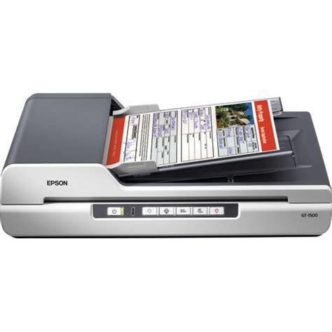 Printer Epson Gt 1500 epson workforce gt 1500 flatbed scanner b11b190011 b h photo