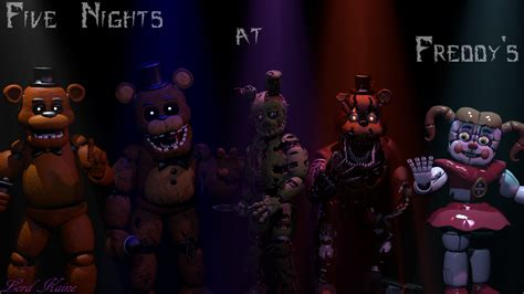 freddys game over nights at five five nights at freddy s wallpaper by lord kaine on deviantart