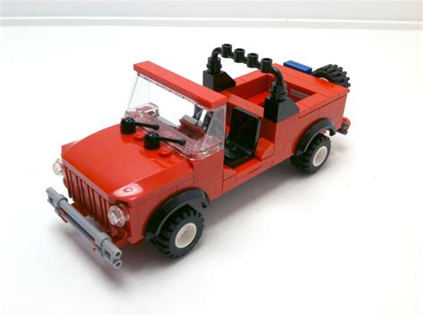 How To Up A Jeep Tutorial Lego 4x4 Jeep Cc