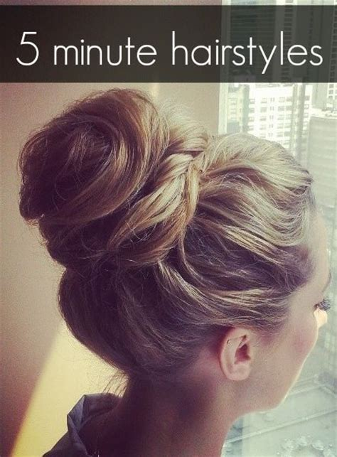 hairstyles you can do in 5 minutes easy hairstyle you can do in 5 minutes hair and makeup