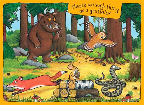 the gruffalo ravensburger puzzle club the gruffalo my first floor puzzle