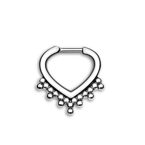 Decorative Septum Jewelry by 25 Best Ideas About Septum Piercings On