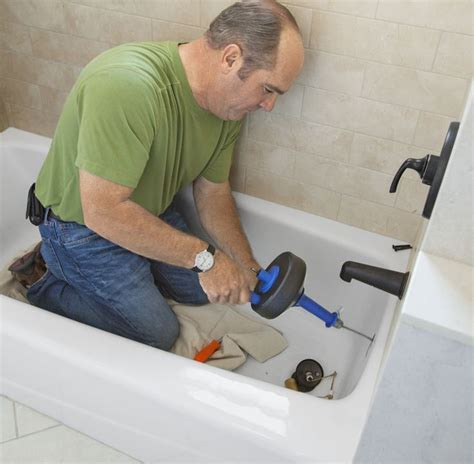 How To Unclog Plumbing Best 25 Unclog Bathtub Drain Ideas On