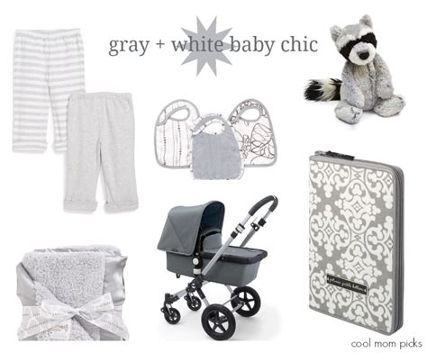 gender neutral gifts gray white for baby a chic gender neutral palette
