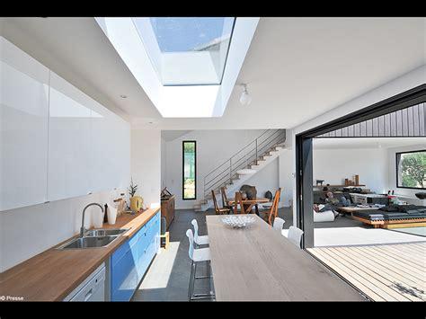 Ordinaire Deco Maison En Pierre #9: Decoration-visite-maison-architecte-29470-LOPERHET.jpg