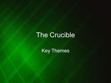 themes of injustice in the crucible the crucible arthur miller ppt download