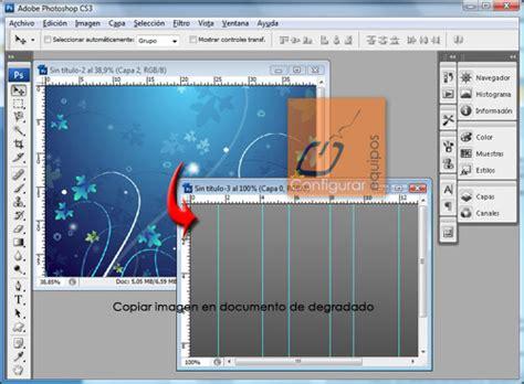 crear imagenes sin fondo con photoshop crear un fondo con photoshop pocos pasos taringa