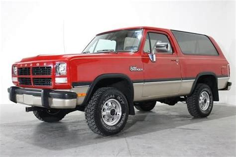 auto air conditioning service 1993 dodge ramcharger interior lighting purchase used 1993 dodge ramcharger canyon sport 4x4 no reserve in grand rapids michigan