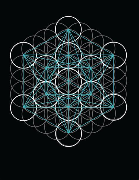 figuras geometricas vectorizadas δ cubo de metatron δ δ geometr 237 a sagrada δ sacred