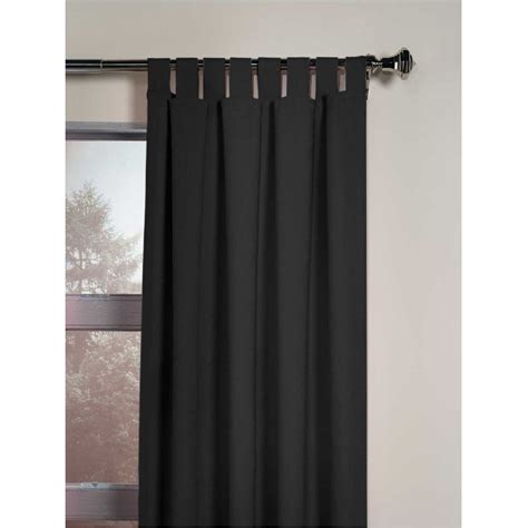 63 curtains window treatments soft microsuede tab top curtain window treatment 63 in