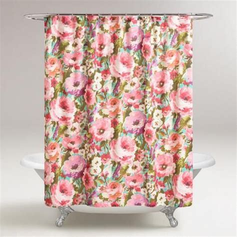 floral shower curtains fabric 25 best ideas about floral shower curtains on pinterest