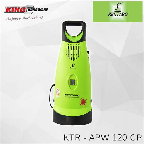 Kentaro Jet Cleaner High Pressure high pressure cleaner mesin cuci motor mobil kentaro ktr apw 120 cp king hardware palu