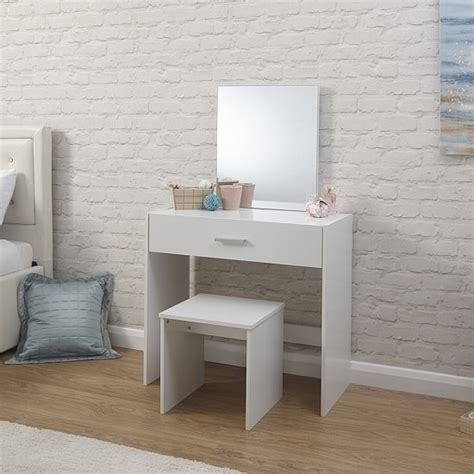 white contemporary dressing table contemporary wooden dressing table set in white