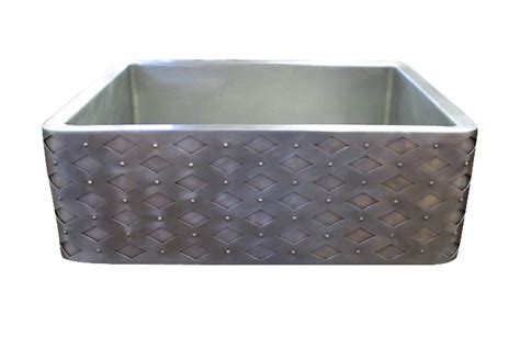 hammered nickel farmhouse sink hammered nickel farmhouse sink plantoburo com