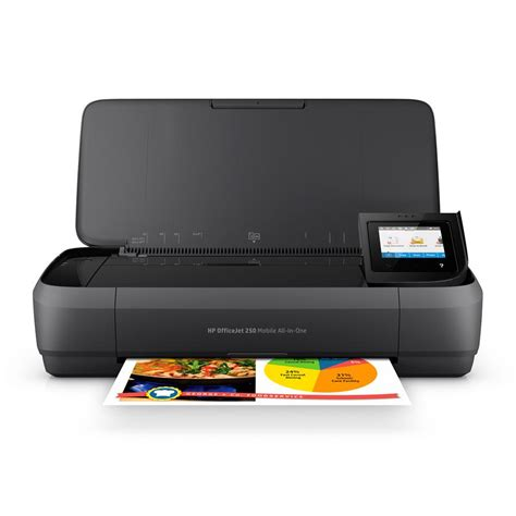 Wifi Portable Hp hp officejet 250 all in one portable printer with wireless mobile printing cz992a
