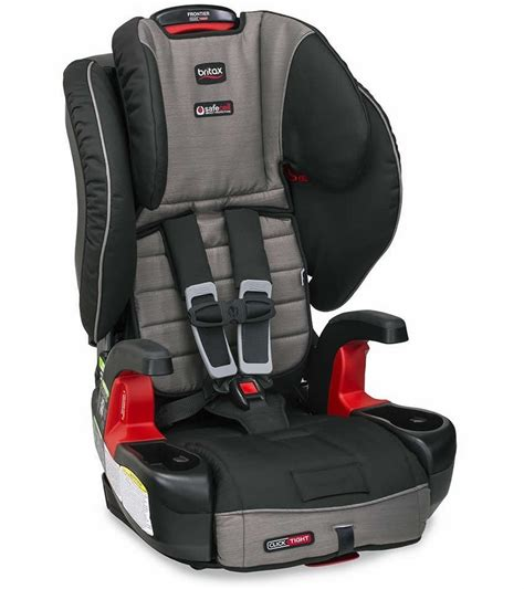 britax car seat frontier britax frontier clicktight booster car seat slate strie