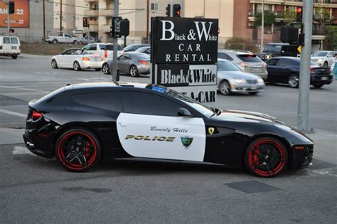police ferrari beverly hills gets ferrari ff police car autofluence com
