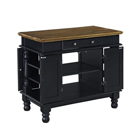 Black Kitchen Island Americana Black Kitchen Island Homestyles