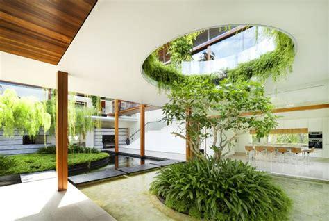 outdoor house plan  interior courtyard  rooftop