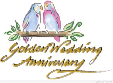 Golden Wedding Anniversary Quotes by Happy 50th Anniversary Quotes Quotesgram