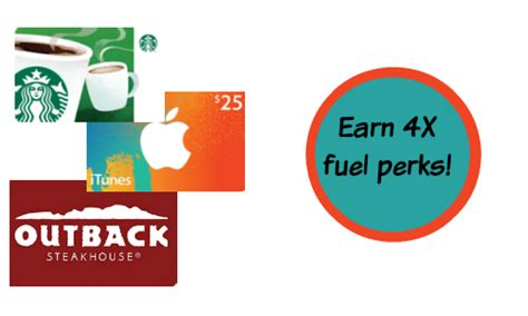 Kroger Gift Cards 4x Fuel Points - 4x fuel points at kroger southern savers autos post