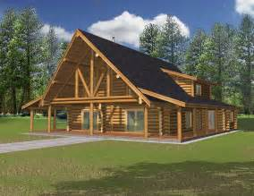 Log Cabin Home Designs by 2690 Sq Ft West Style Log Home Log Cabin Home Log