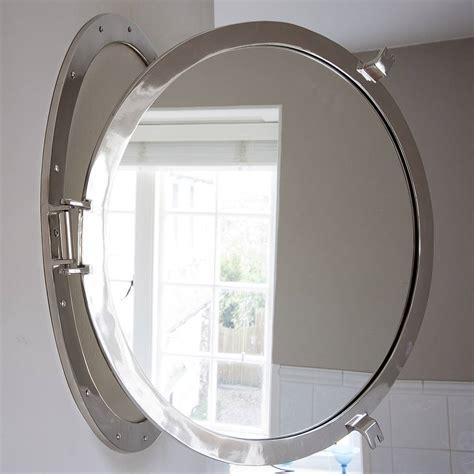 porthole bathroom cabinet porthole mirrored medicine cabinet oxnardfilmfest com