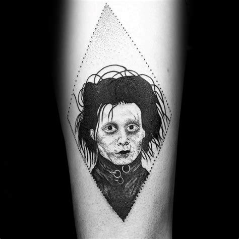 edward scissorhands tattoo 40 edward scissorhands designs for ink
