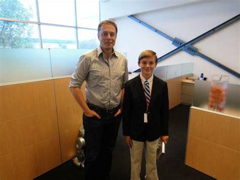 elon musk school main line school 7th grader gets wish to meet ceo of