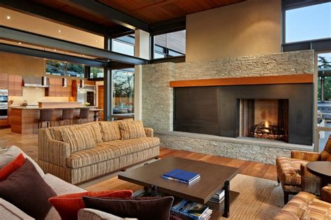 the living room seattle lake house two living room contemporary living room