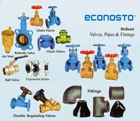Different Types Of Plumbing Valves by Types Of Pipes Valves And Fittings Akhbar