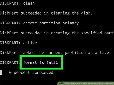 format fs fat32 not working 4 easy ways to format a pendrive if windows is unable