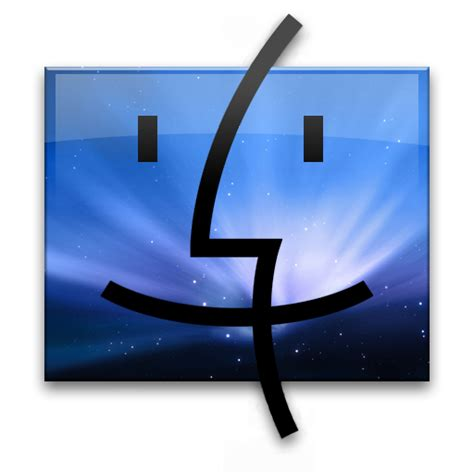 logo finder 4 leo finder blue icon x set iconset gordon irving