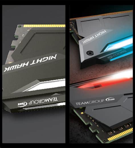 Memory Pc Team T Hawk 16gb Ddr4 Pc24000 3000mhz Black team t hawk 16gb 2 x 8gb 288 pin ddr4 sdram ddr4 3000 pc4 24000 ebay