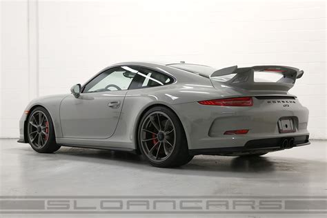 porsche gt3 grey 2015 porsche 991 gt3 pts fashion gray black 2 158 miles