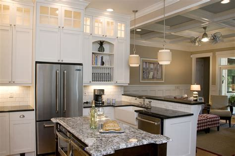 photo gallery of the great kitchen island with sink and spectacular display cabinets with lights decorating ideas