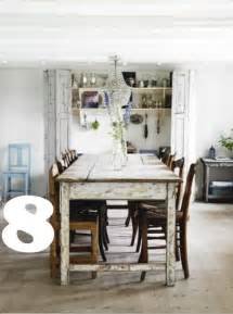 Country Chic Dining Table 14 Fabulous Rustic Chic Dining Tables Inspiration Picklee