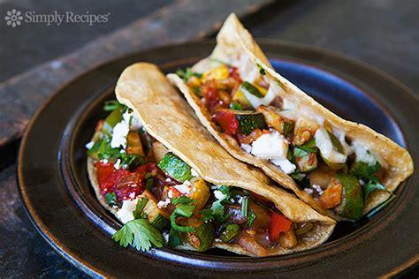 how to make vegetarian tacos recipe vegetarian tacos simplyrecipes
