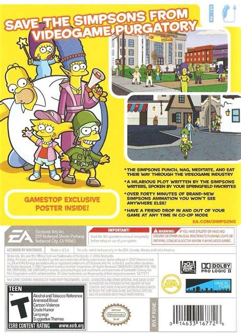 psp themes simpsons psp the simpsons game