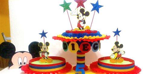 Jo 3265 Kemeja Mickey 1 decoraciones infantiles mickey mouse dulcero