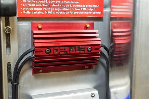derale electric fan controller sema 2013 high tech derale pwm fan controller off road