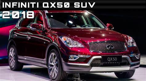 infiniti 2018 qx50 2018 infiniti qx50 suv review rendered price specs release