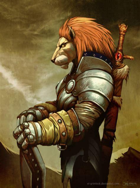 imagenes de leones guerreros deva leon by el grimlock on deviantart characters