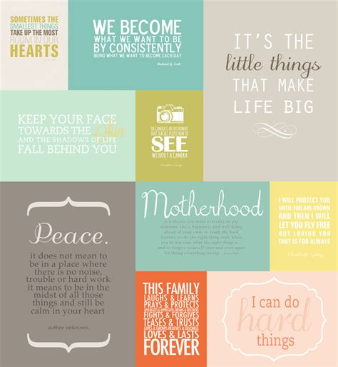 free printable quotes pdf favorite quotes mini album printables