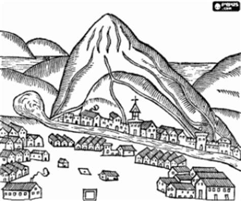 ciudad de dibujos para colorear grabado de una antigua ciudad para colorear pintar e imprimir