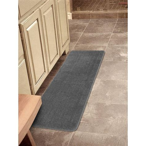 Non Slip Runner Rugs by Softy Collection Modern Shaggy Anti Slip Runner Rug Low