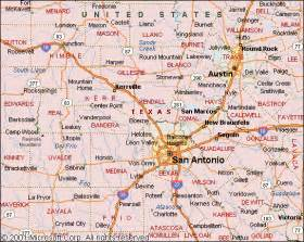 map of san antonio and surrounding area san antonio metro map map travel vacations